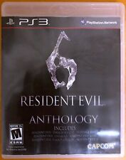 Resident Evil 6 - Anthology - PlayStation PS3 Games - Very Good Condition