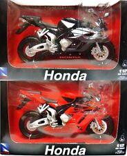 NEW RAY 1/12 2005 HONDA CBR1000R MOTORCYCLE BIKE SET OF 2 NEW 42387
