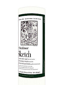 """Strathmore Paper Roll 400 Series Recycled Sketch 36""""x10yd Roll"""
