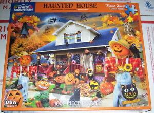 Haunted House – White Mountain Puzzle – N.I.B