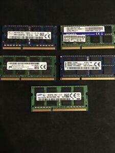 RAM 8GO 12800S-PC3L-DDR3L-Samsung-SKHYNIX-MICRON-ADATA