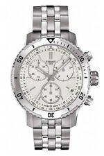 TISSOT PRS 200 T0674171103101 WHITE CHRONOGRAPH MENS WATCH  RRP £380