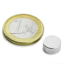 Super Magnete Disco al Neodimio dimens. 10 x 5 mm Potenza 2,4 Kg. Magnetoterapia