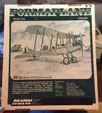 Formaplane kit no. C19 1/72 Be 2c British WW1 Fighter Aircraft