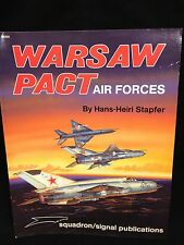 Warsaw Pact Air Forces by Hans-Heiri Stapfer Squadron Signal Book 6054 Very Good