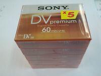 SONY DVM 60 PR4 PREMIUM MiniDV Camcorder Kassette    2  5er Packs (10 Cassetten)