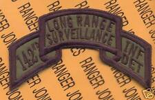 142nd Inf Det LRS Airborne Ranger 42 Div NYARNG patch B