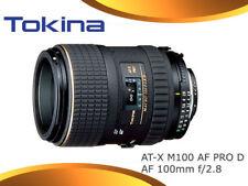 Tokina AT-X M100 AF PRO D AF 100mm f/2.8 F2.8 (Canon)