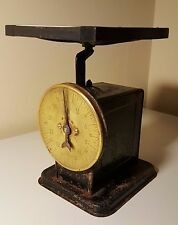 Antique Porcelain Tile top Scale (20 lb cap.)