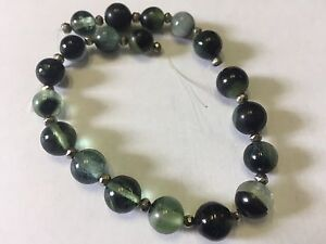125ct Stunning Muli-Color Rare Green  Tourmaline Round Beads T74
