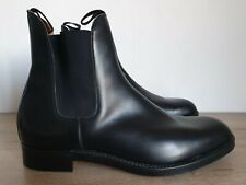 TRICKERS Lambourn Black Calf Leather Chelsea Boots Made in England Size 13 MINT