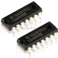 four 2-input NOR gates lot of 5 pcs MHB4001 CMOS