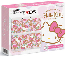 Nintendo 3ds Console Kisekae Plates Hello Kitty JP