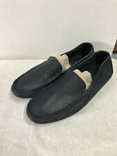 SPERRY TOP-SIDER BLACK Mens Slip-on 11.5M Loafers Driving Moc
