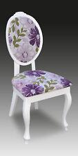 Designer Luxus Klassischer Esszimmer Stuhl Stühle Sitz Lehn Massiv Holz Sessel