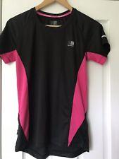 Karrimore Short Sleeved Sports/Leisurewear/Activewear Top Black/Pink Size 12