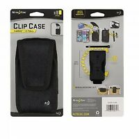 Nite Ize - Clip Case Rugged Cargo Holster| Size: Extra Tall | Color: Black