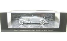 Duesenberg SJN (SUPERCHARGED) Convertible Coupe (1936) Silver