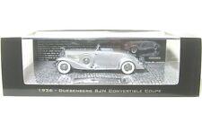 Duesenberg SJN Supercharged Convertible Coupe 1936 1 43 Minichamps 437150330 R