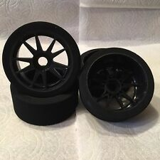 1/8 Buggy FOAM Tires Glued 17mm ( BSK)