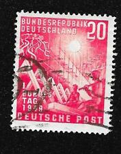 Germany 1949 Scott #666 Used NH Reconstruction