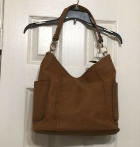 NWT  Women's Large Top Shoulder Bag Tan Color