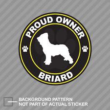 Auto pegatinas Briard-sticker con berger de Brie