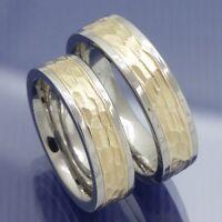 Neue Edelstahl Gold Trauringe - Sade - Eheringe Partnerringe Hochzeitsringe