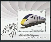 Mali 2016 MNH High-Speed Trains BR Class 800 1v S/S Rail Railways Stamps