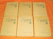 enciclopedia dei maestri, 6 volumi ,edizioni cavallo 1949 milano ,completa