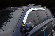SAFE Chrome Window Sun Visor 4Pcs For KIA Sedona Grand Carnival 2005 2014