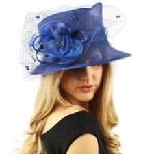 21000148 Blue Sinamay Hats for Women for sale   eBay