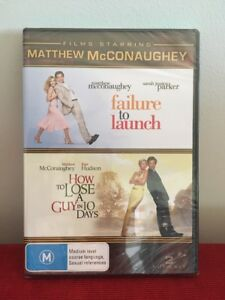 Matthew McConaughey - How To Lose A Guy In 10 Days / Failure To Launch (PAL DVD]
