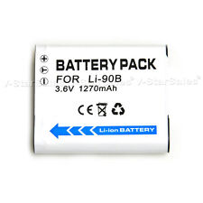 LI-90B Battery for Olympus Stylus Tough TG-2 iHS, Tough TG-3, TG3