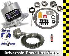 GM 8.875 Chevy 12 Bolt Car 4.10 Ring and Pinion Yukon Duragrip Posi Gear Package