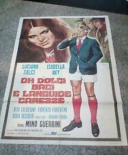 OH DOLCI BACI E LANGUIDE CAREZZE manifesto 2F originale 1970