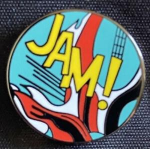 Paul weller The Jam The Style Council Enamel Pin Badge Mod Pop Art Whaam