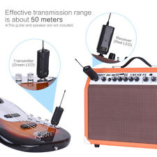 Muslady Wireless Audio Transmitter Receiver System for Guitar Bass Violin Parts