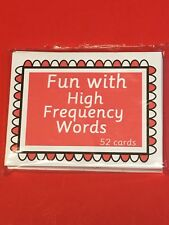 Fun with High Frequency Words.- Fun With Learning Flash Cards