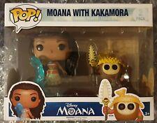 2 PACK DISNEY MOANA WITH KAKAMORA FUNKO POP VINYL FIGURES