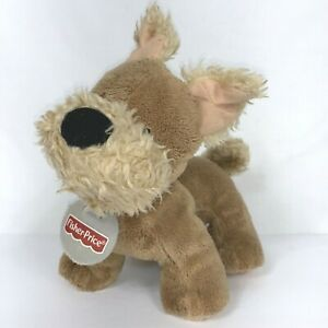 """Fisher Price Aimie Dog Terrier 8"""" Toy March 2nd 2003 Vintage"""