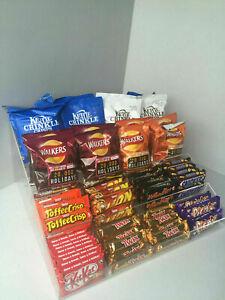 Chocolate Bar, Crisps, Condiment, 4 Step Counter Display (Impulse Buy) 3 Sizes