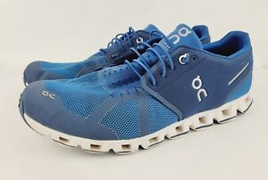 On Cloud Mens Sz 11 Running Walking Athletic Shoes Blue Lightweight