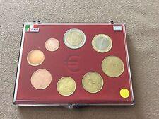 Coffret complet de 8 pièces Italie 2002
