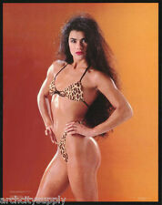 LOT OF 2 POSTERS: DENISE POLVAY - SEXY FEMALE MODEL - FREE SHIP  #30-110  RAP7 C