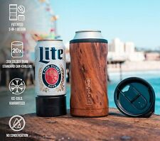 BRUMATE HOPSULATOR TRIO 3-IN-1 Stainless Steel Insulated Can Cooler 12/16OZ Beer