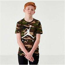 NWT Nike Air jordan boys clothes camo shirt size medium