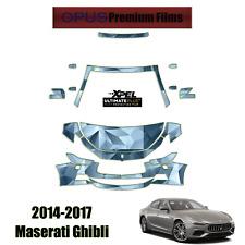 XPEL ULTIMATE Plus PreCut Paint Protection Kit for Maserati Ghibli 2014 - 2017