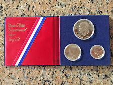1776 - 1976 Bicentennial Silver Proof 3 Coin Set United States Mint w/ COA