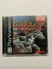 Gallop Racer Sony PlayStation 1999 PS1 COMPLETE & TESTED